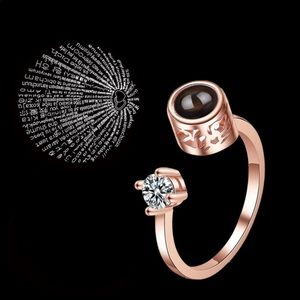 Jewelry - Valentine's Day projectiion ring